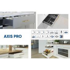 Выдвижная система AXIS PRO l-400 мм очень высокий H199 Графит