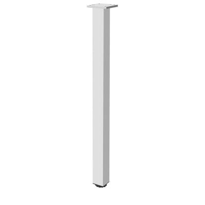 Квадратная мебельная опора с регулировкой 60х60х710 - nm-60r710-05