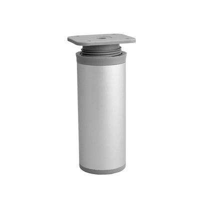 Ножка мебельная DAP-77 H-100 алюминий - nm-dap77-100