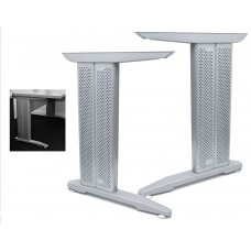 Металлический каркас для стола, серый