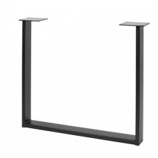 Каркас для стола GTV INDUSTRIA 710 мм x 820 мм прямоугольный профиль 80 x 20 мм черный