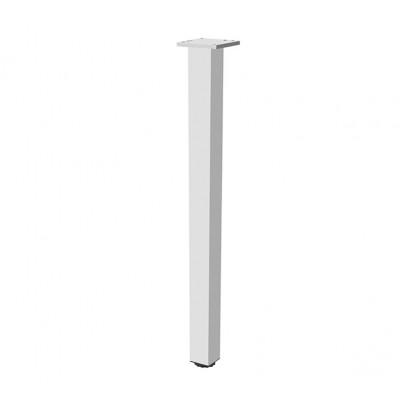 Квадратная мебельная опора с регулировкой 60х60х820 - nm-60r820-05