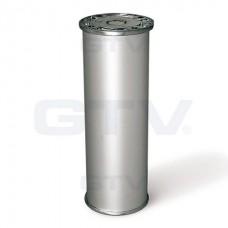 Ножка мебельная 867 H-100 алюминий