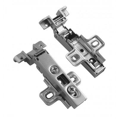 Петля для алюминиевых рамок накладная - ZP-RALUH2-00