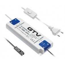 Трансформатор электрический 30W для светодиодов 18 мм