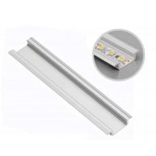 Алюминиевый профиль GLAX врезной, 3 метра, (цена за 3 метра)