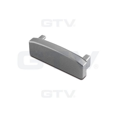Заглушка конечная профилю GLAX, для светодиодной ленты накладная - PA-ZASGLAXNK-00