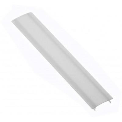 Крышка молочного цвета для алюминиевого профиля PA-GLAX-AL, 3 метра - PA-OSMLGLAX3M-00