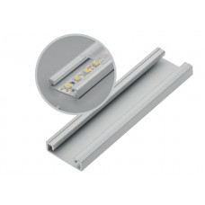 Алюминиевый профиль GLAX накладной, 3 метра (цена за 3 метра)