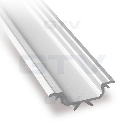 Алюминиевый профиль GLAX угловой, 2 метра (цена за 2 метра) - PA-GLAXKT-AL