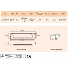 Трансформатор 30W для светодиодного светильника