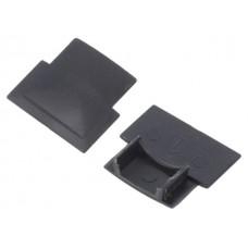 Заглушка концевая GTV к врезного LED-профиля (10 шт) Черный