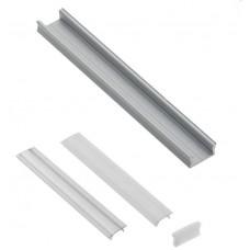 Алюминиевый профиль GLAX накладной MINI, 3 метра (цена за 3 метра)