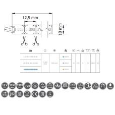 Лента светодиодная Flash 3014 1200 диодов 53W т / б бухта 5м