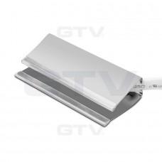 Клипса светодиодная стальная для стеклянных полок, 3 диоды RGB SMD 5050, 0.6W / 12DC