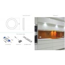 Светильник LED Castello, 12v DC, 36 Smd3528, 200см провод с miniamp (2 метизы, скотч 3m)