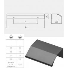 Ручка GTV TREX 96 мм Черный