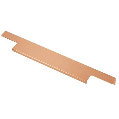 Ручка мебельная торцевая GTV LIND 224/496 Матовое Золото - UA-LIND-224-496-18