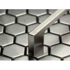 Ручка UZ-819 128 мм шлифованные сталь