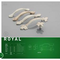 Ручка ROYAL 1 96 мм, Белий/Золото