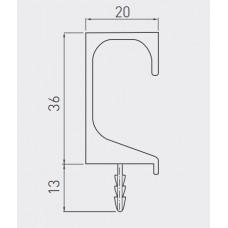 Ручка PROFIL C 3.5м Сталь