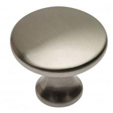 Ручка кнопка UDINE шлифованная сталь