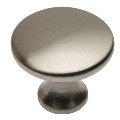 Ручка кнопка UDINE шлифованная сталь - GZ-UDINE-1-06