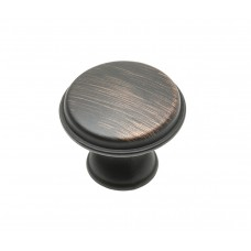 Ручка кнопка GTV CENTO d 28 мм Античная медь