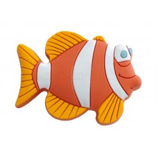Ручка детская резиновая рыба