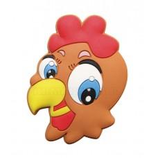 Ручка детская резиновая курица
