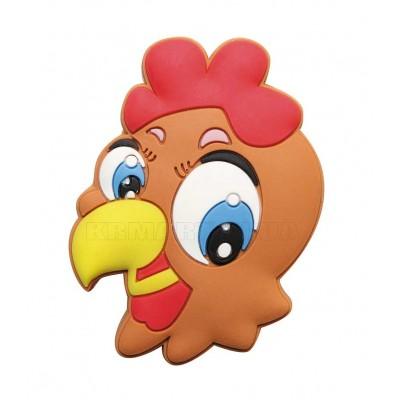 Ручка детская резиновая курица - um-kid-o-001