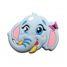 Ручка детская резиновый слоник