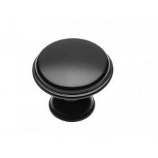 Ручка кнопка GTV CENTO d 28 мм Черный матовый