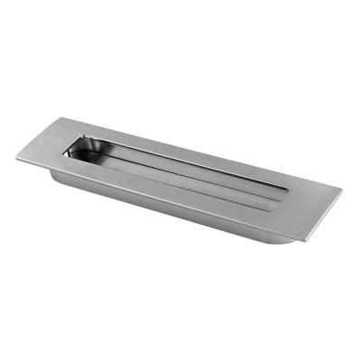 Ручка врезная E6 160 мм, хром - UZ-E6-160-01