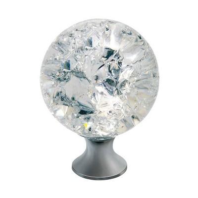 Ручка мебельная Crystal Palace CRPС (d 30 Хром + Кристалл) - GZ-CRPC30-01