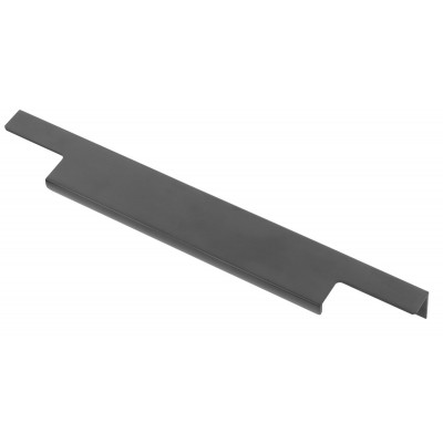 Ручка мебельная торцевая GTV LIND 256/296 Черный матовый - UA-LIND-256-296-20M