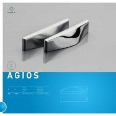 Ручка AGIOS 128 мм, Хром