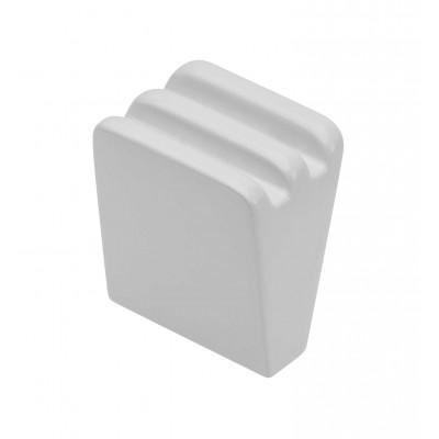Ручка кнопка GANZA Белый - GZ-GANZA-1-10