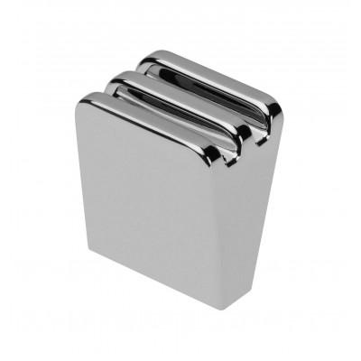 Ручка кнопка GANZA Хром - GZ-GANZA-1-01
