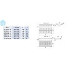 Двухуровневая регулируемая сушка с телескопическим креплением 280х765х65
