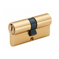A5E 30/30 PB Евроцилиндр англ. ключ / англ. ключ полированная латунь