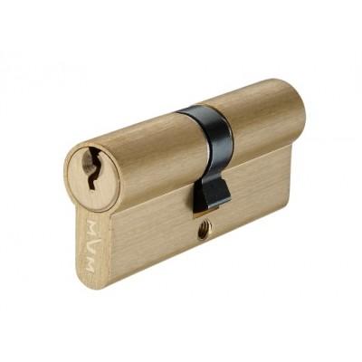P6E35 / 35 SB цилиндр англ. ключ матовая латунь - p6e35-35-sb