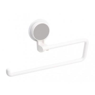 Держатель клейкий для бумажных полотенец BP-10 пластиковый белый - BP-10 білий