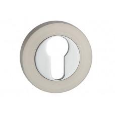 E3 SN / CP накладка под цилиндр мат.никель / пол.хром