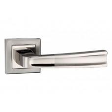 Z-1355 BN/SBN ручка для дверей на розетке черный никель/матовый