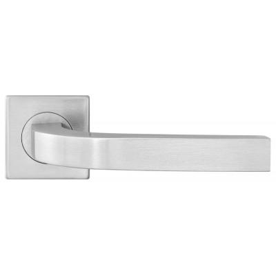 S-1134 SS ручка д/дверей на розетке (квадрат), нержавеющая сталь