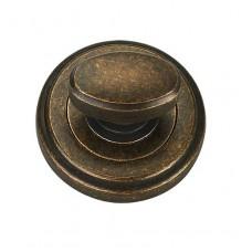 T6 AMAB накладка под WC античная матовая старая бронза