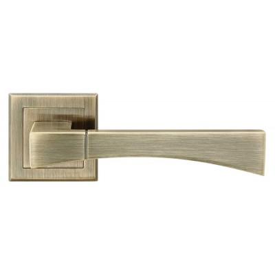 Z-1257 AB ручка для дверей на розетке старая бронза - z-1257-ab
