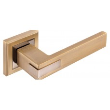 Z-1320 MACC/PCF ручка для дверей. на раз. мат. бронза/полир.бронза