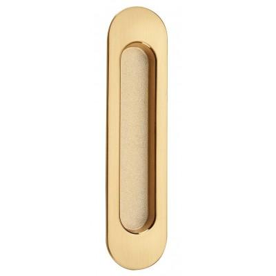 SDH-1 PB/SB ручка для дверей пол.латунь/мат.латунь - sdh-1-pbsb